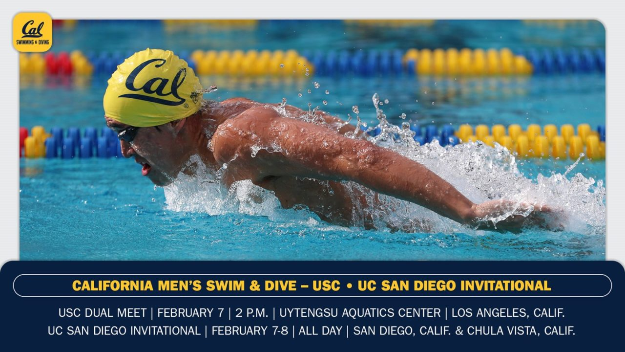 Cal Men To Face USC & UC San Diego In SoCal