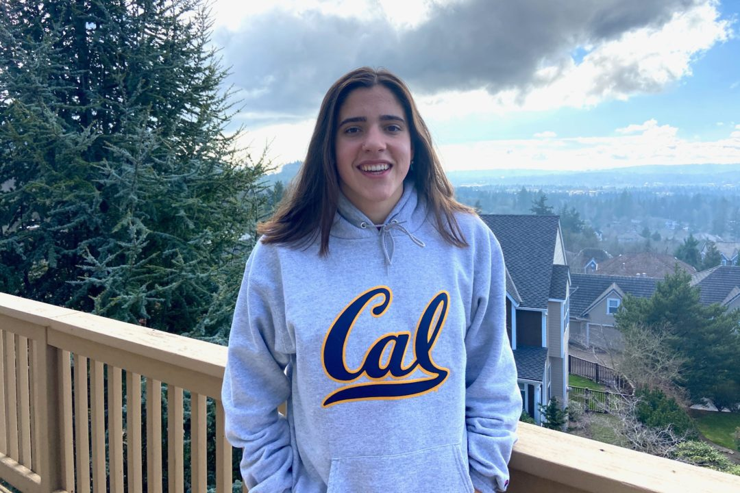 Oregon 1-4A Record-holder Elizabeth Cook (2021) Makes Verbal Commitment to Cal