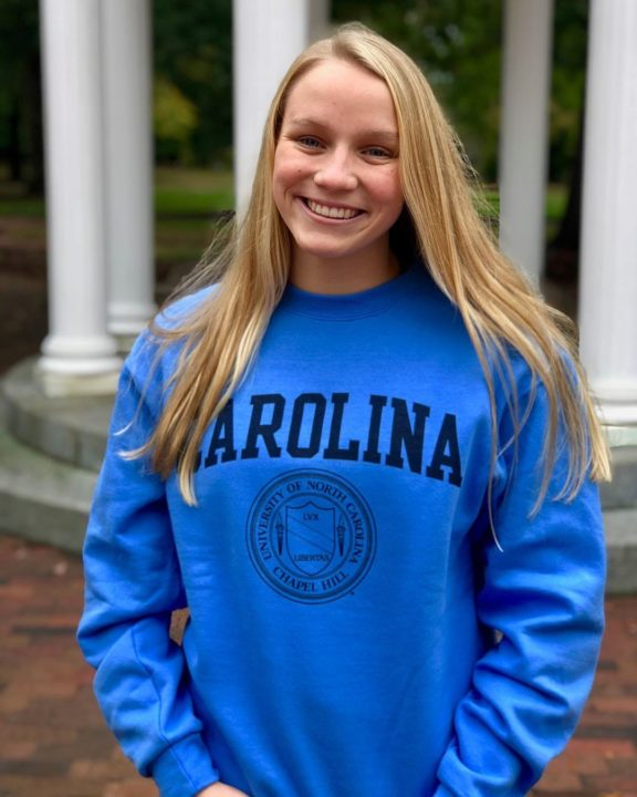 Sprint Freestyler, North Carolina Runner-Up, Elizabeth Sowards Commits to UNC