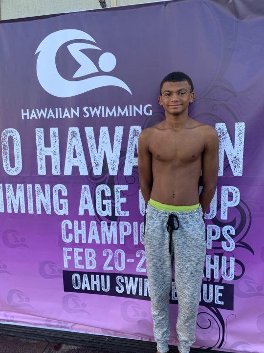 X Rose Sets State Records, Hits #12 All-Time 11-12 50 BR At Hawaii Age Champs