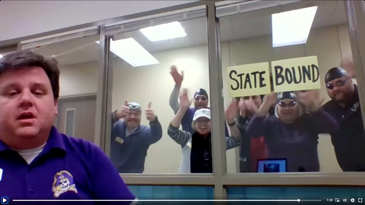Get You a Principal Like Jeremy Ross at Granbury High School (SWIMMING VIDEO)