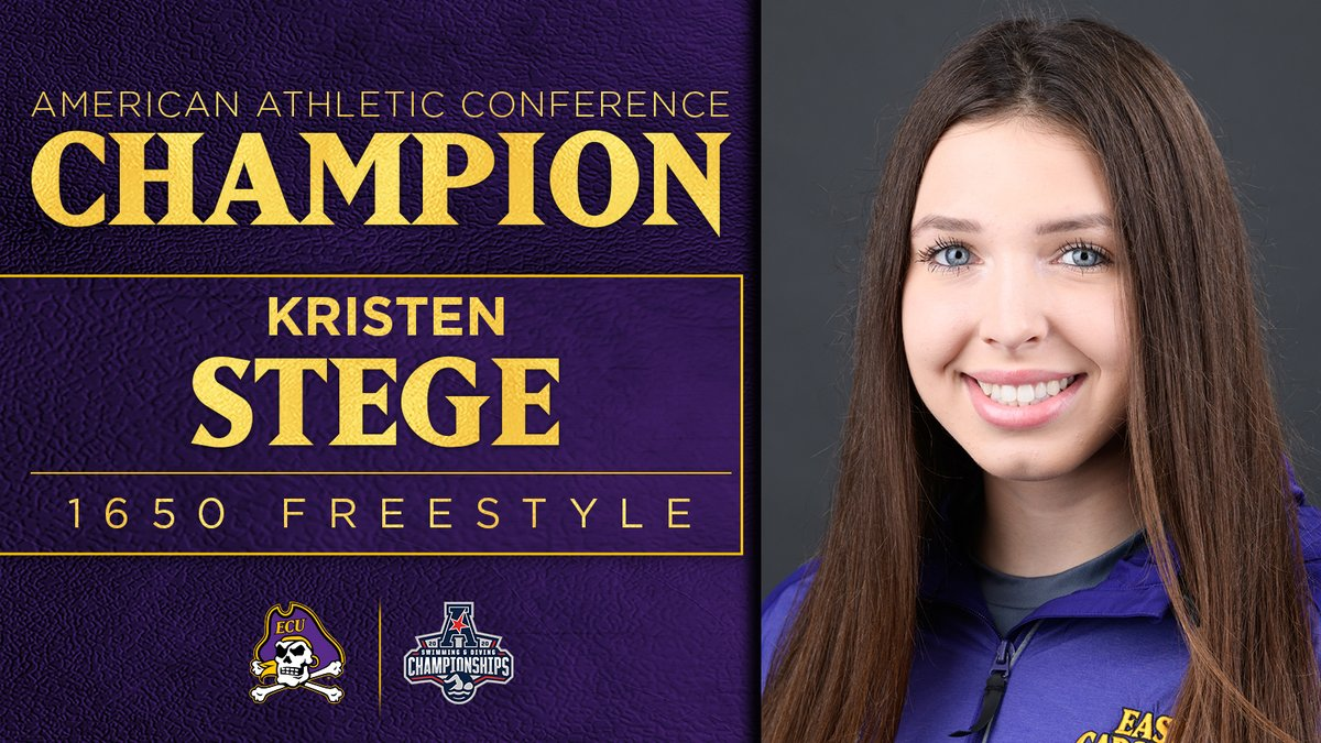 East Carolina Swimmer Breaks Conference Record in Her First-Ever Mile Swim
