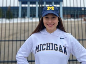 Club Wolverine's Abbey Ketslakh Gives Verbal to the Michigan Class of 2025