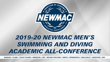 NEWMAC Announces 2019-20 Men's Academic All-Conference Honorees