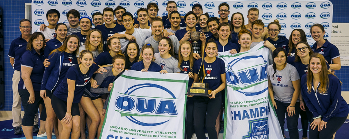 Varsity Blues Claim Seventh Straight Sweep At OUA Championships