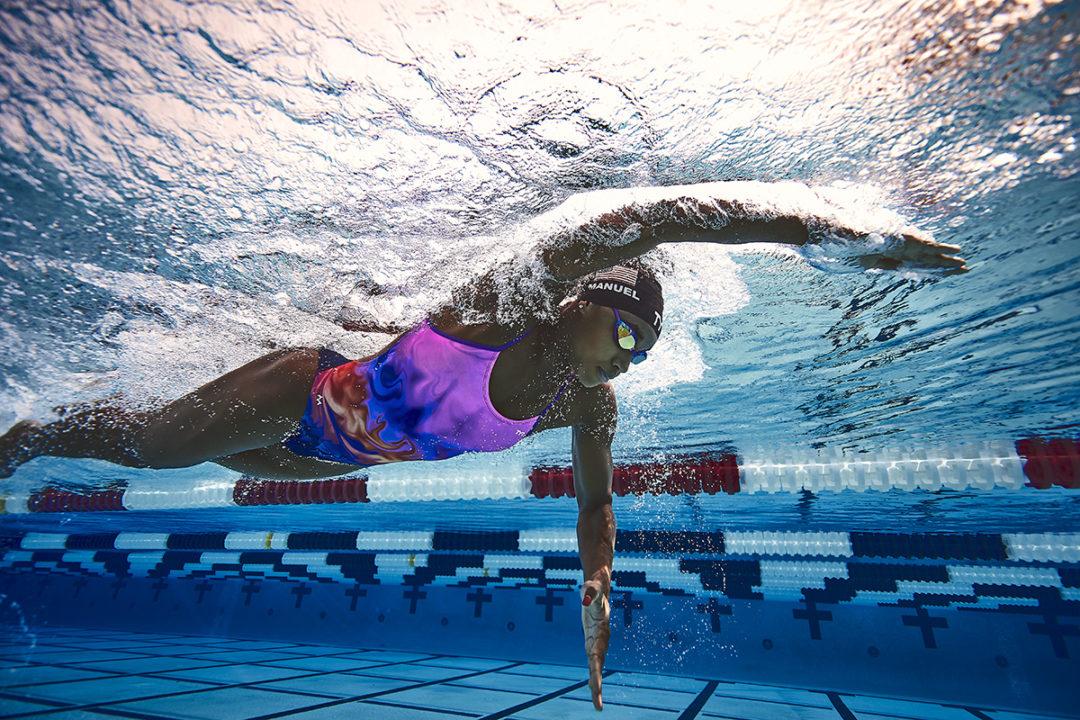 4x Olympic Medalist Simone Manuel and TYR Launch TYR X SIMONE Collection