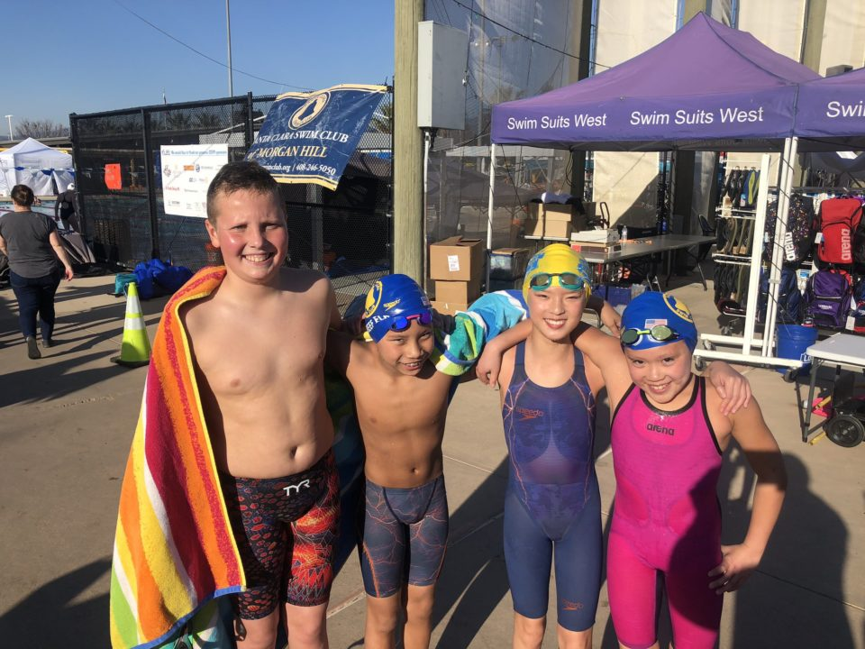 Santa Clara Swim Club Breaks a Pair of 10 & Under National Age Group Records