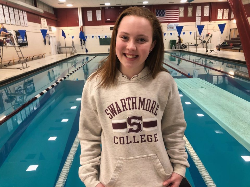 Sarah Conley Commits to DIII Swarthmore College