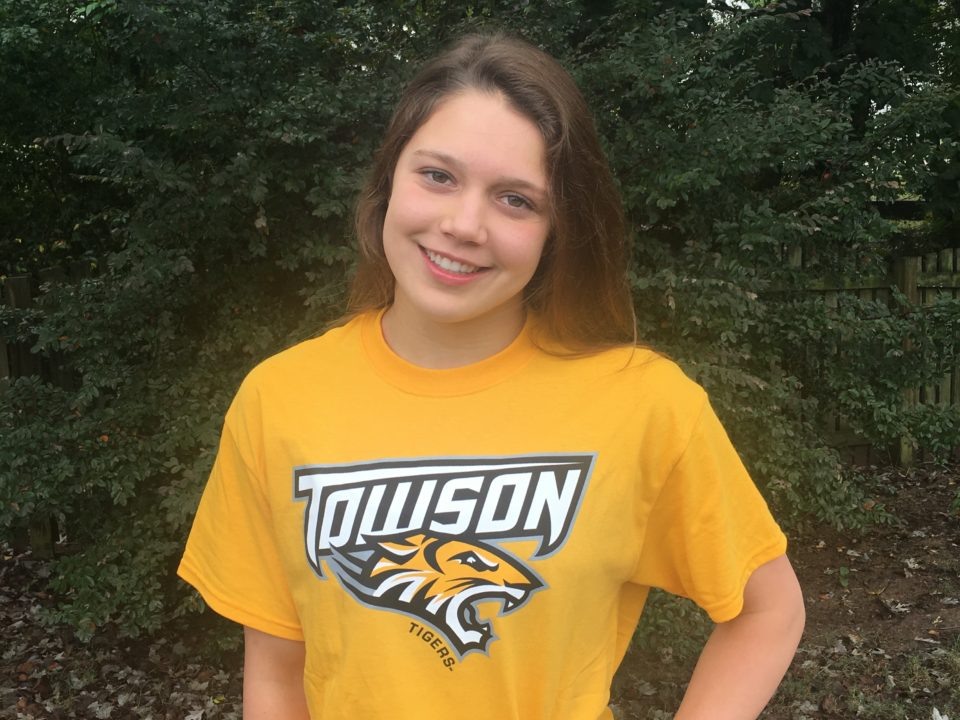 SwimMAC's Victoria Dichak (2020) Makes Verbal Commitment to Towson