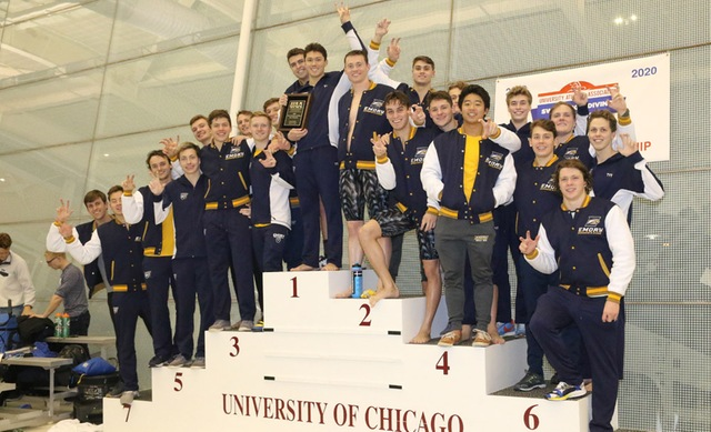 Emory Men & Women Claim 22nd Consecutive UAA Conference Titles