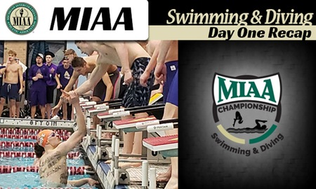 Hope Teams Win 800 Free Relays On Day 1 Of MIAA Championships