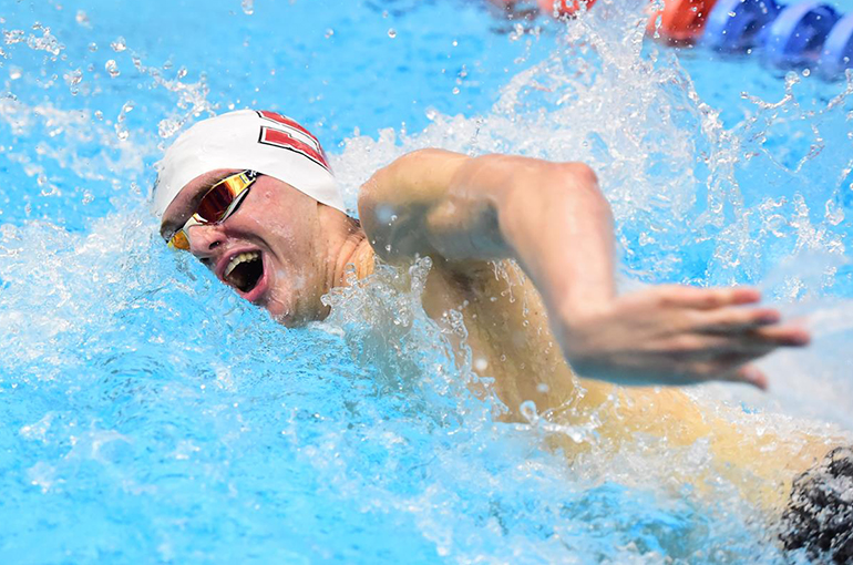 Two Relay Records Fall On Opening Night of Centennial Conference Championships