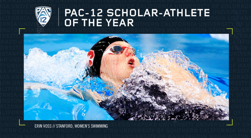 Erin Voss Named Pac-12 Women's Swimming & Diving Scholar-Athlete of the Year