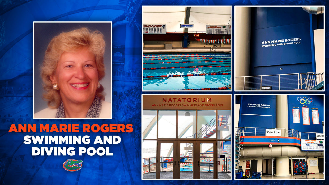 After $1 Million Alum Gift, Florida Pool Named for Anne Marie Rogers