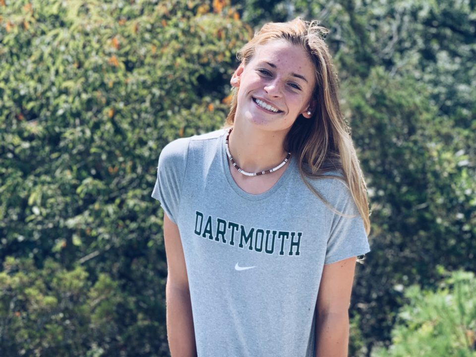 Open Water Nationals Qualifier Emily Appleton Commits to Dartmouth For 2020