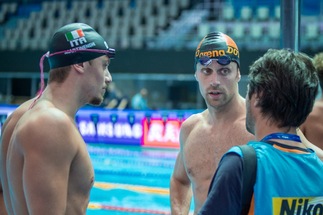Italian Swimming Federation Adds Clarification To Who Can Train