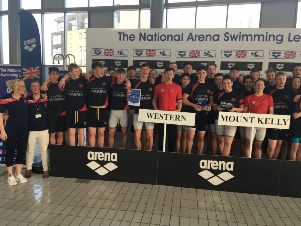 Mount Kelly Takes Home First-Ever National Arena Swimming League Trophy