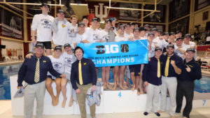 Big Ten Swimming & Diving Schedule Will Kick Off This Weekend