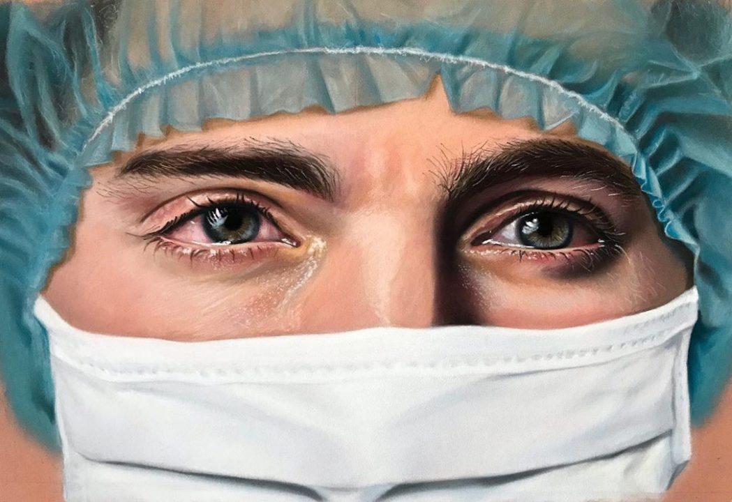 Swimmer Lorenzo Zazzeri Creates Iconic Coronavirus Image