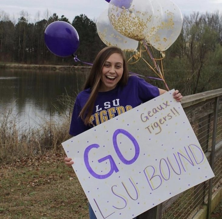 Sarah-Grace Thompson Commits to LSU