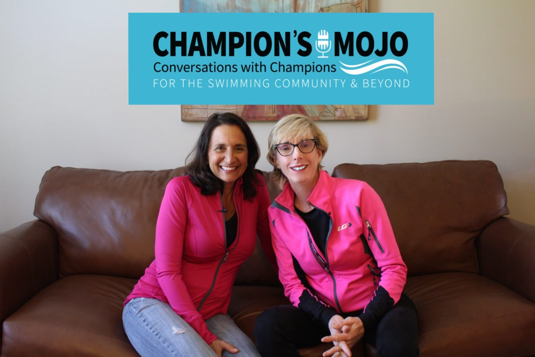 Coronavirus Crisis Counseling for Swimmers on Champion's Mojo Podcast