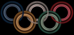 Olympic Rings Monument Returns To Tokyo Bay