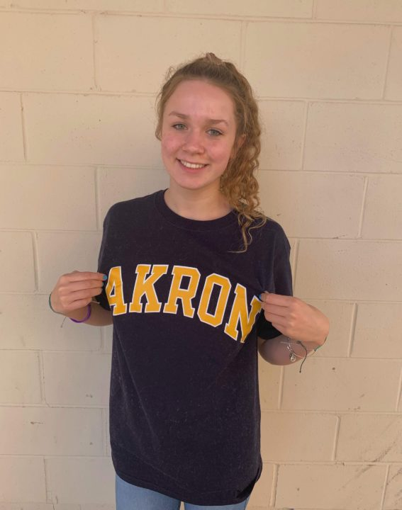 Abby Daniel Announces Verbal Commitment to Akron for 2021