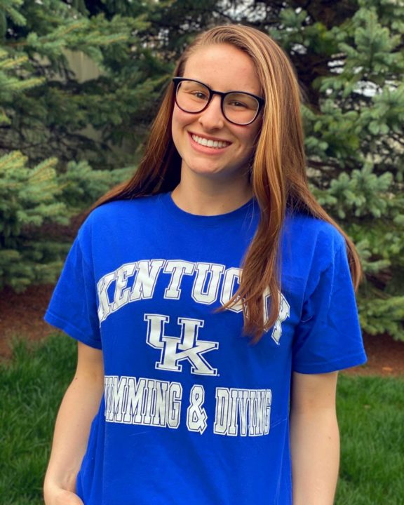 Backstroker Kaitlyn Bacik Commits to the University of Kentucky for 2020
