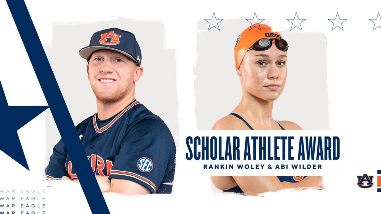 Abi Wilder Named Auburn Female Scholar Athlete Award Winner