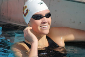 Former USC Swimmer Ashley Brewer Makes Her ESPN SportsCenter Debut