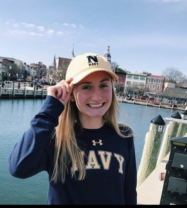 GHSA 1-5A State Champion Caroline Irwin Commits to the U.S. Naval Academy