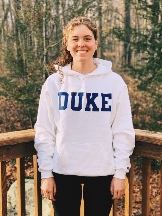Atlantic 10 Swimmer of the Year Mia Bullock Transfers from Fordham to Duke