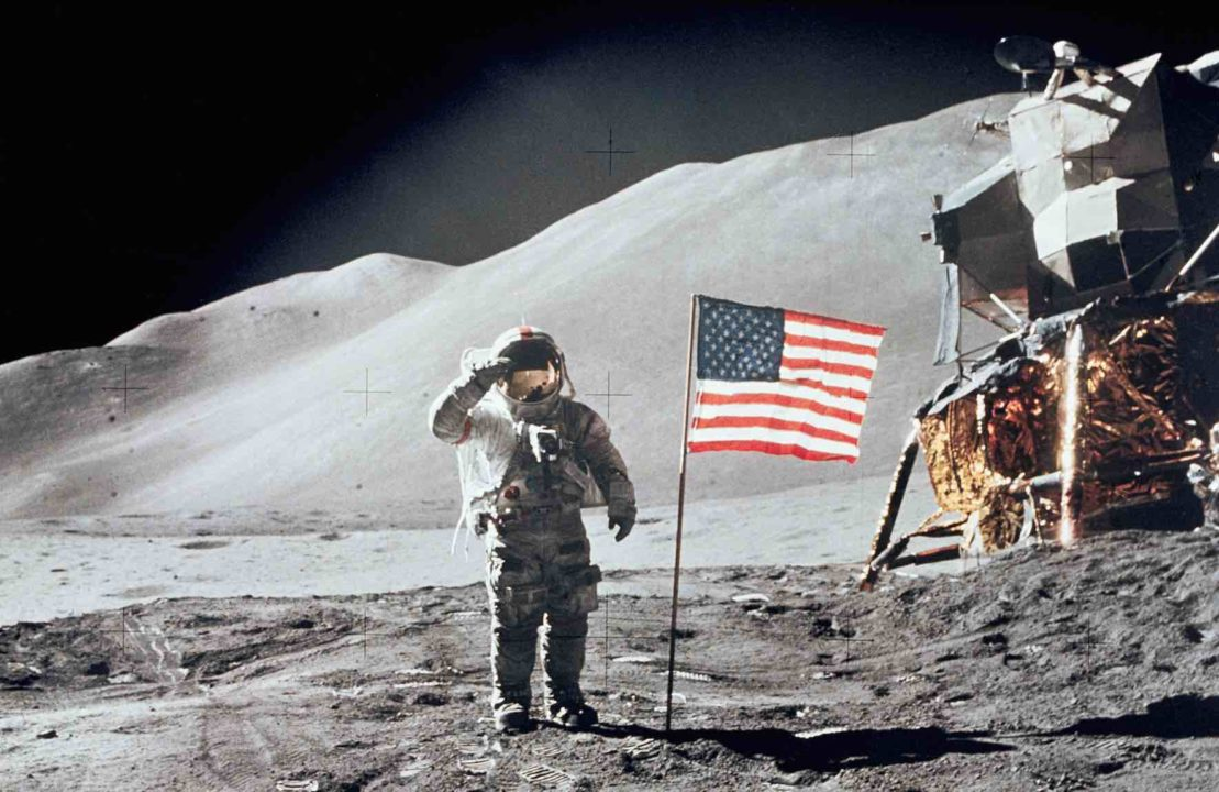 Swimmer Dave Scott: 7th Human To Walk On The Moon