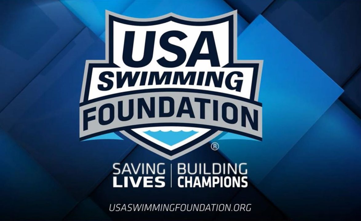 2021 USA Swimming Foundation Learn-to-Swim Grant Applications Now Available