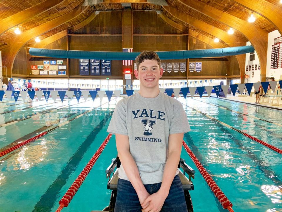 YMCA National Record-holder Nathan Borges Commits to Yale