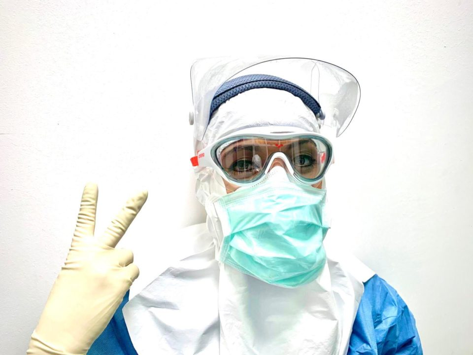 The arena ONE Mask Comes To The Milan Polyclinic Hospital