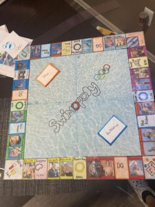 Presenting The Swimmer Version Of Monopoly: SwimOpoly