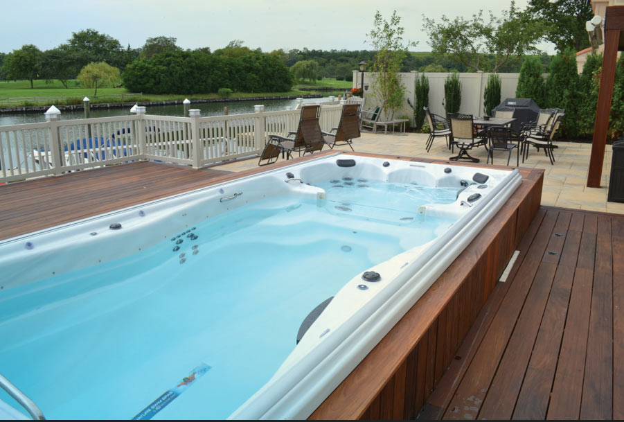 Maintain Your Swim Training At Home With a Michael Phelps Signature Swim Spa