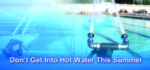 The Watercannon Portable Aerator Solves The problem Of Hot Swimming Pool Water