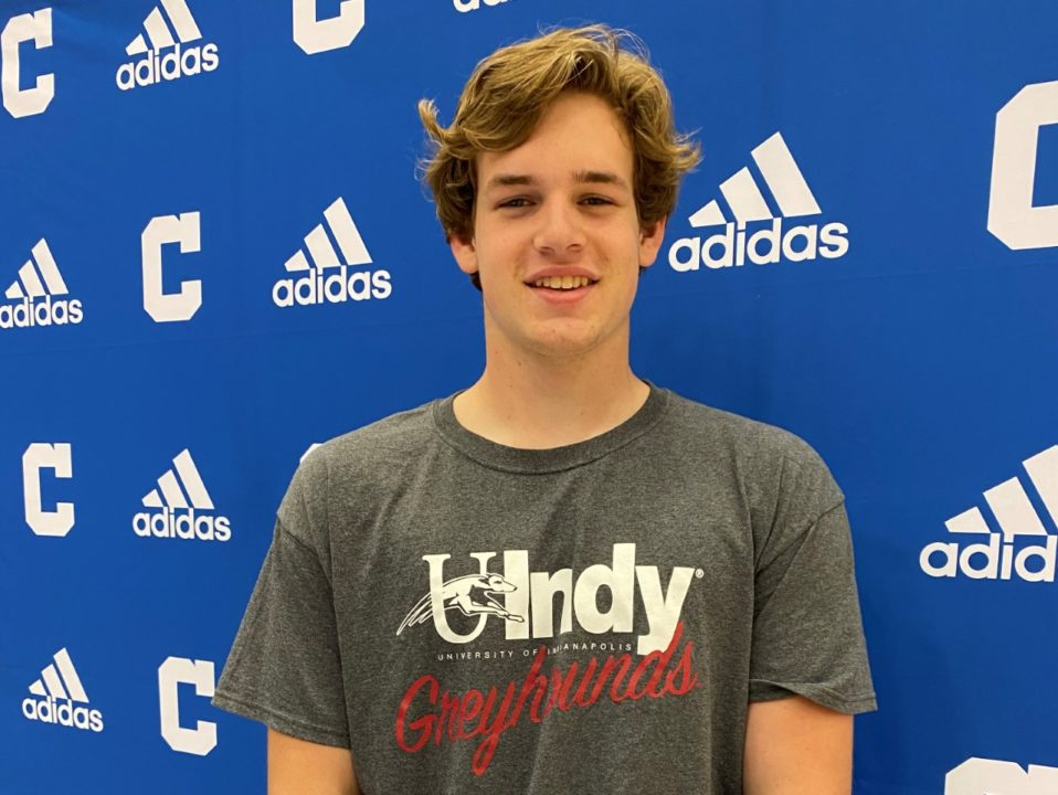 Missouri 100 Breaststroke State Champ Brayden Cole Commits to UIndy