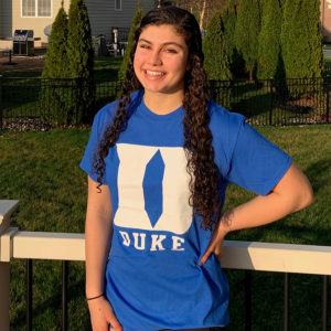 Delaware Swimmer of the Year Ashley Chompre Commits to Duke