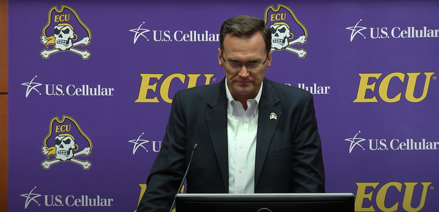 East Carolina Athletics Director Issues Tearful Apology Over Cutting Programs