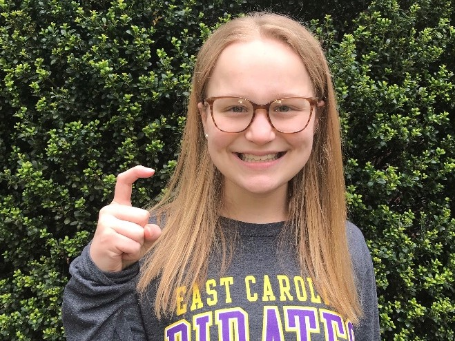 East Carolina Receives Verbal from Winter Juniors Qualifier Katie Knorr (2021)