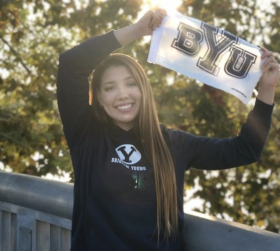 Chloe Freeman Commits to BYU with a 100 Back Time Better than the School Record