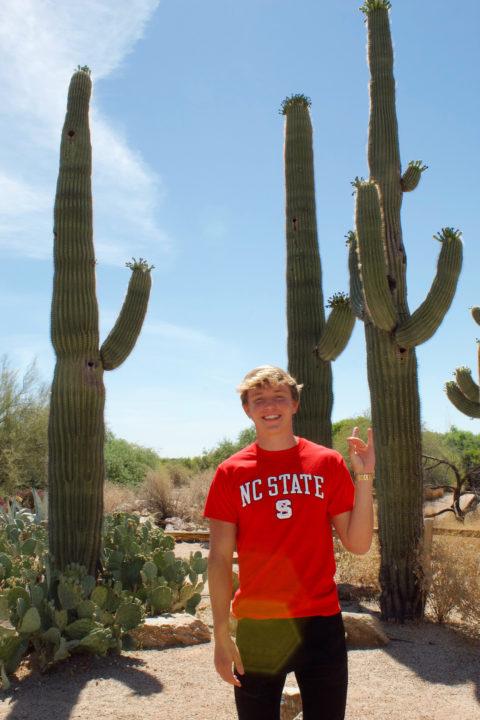 Arizona State Champion Breaststroker Nathan Kempiak Commits to NC State