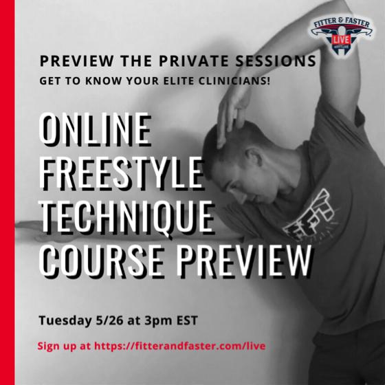 Online Freestyle Technique Course Preview
