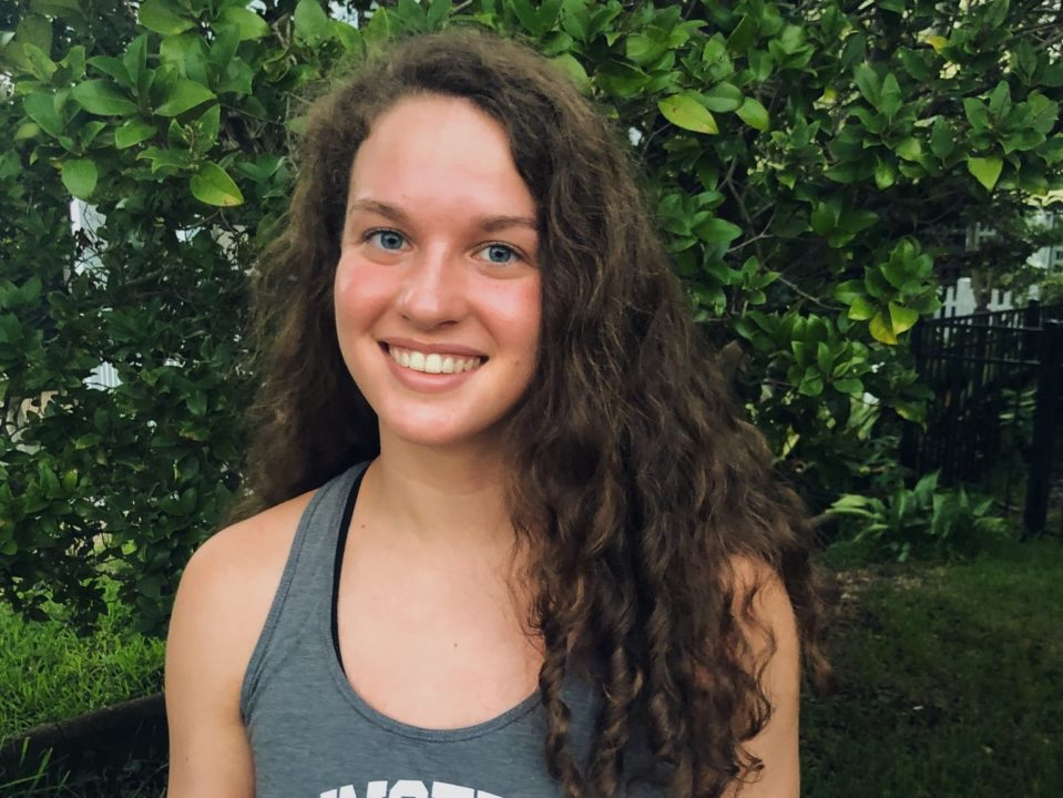 NAG Relay Record-holder Liza Whitmire to Swim for Princeton in 2020-21