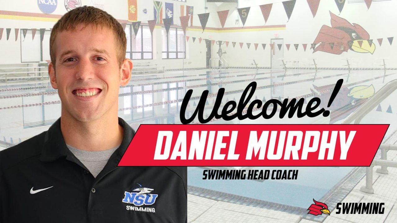 Daniel Murphy Named Head Coach Of Wheeling University Swimming Programs