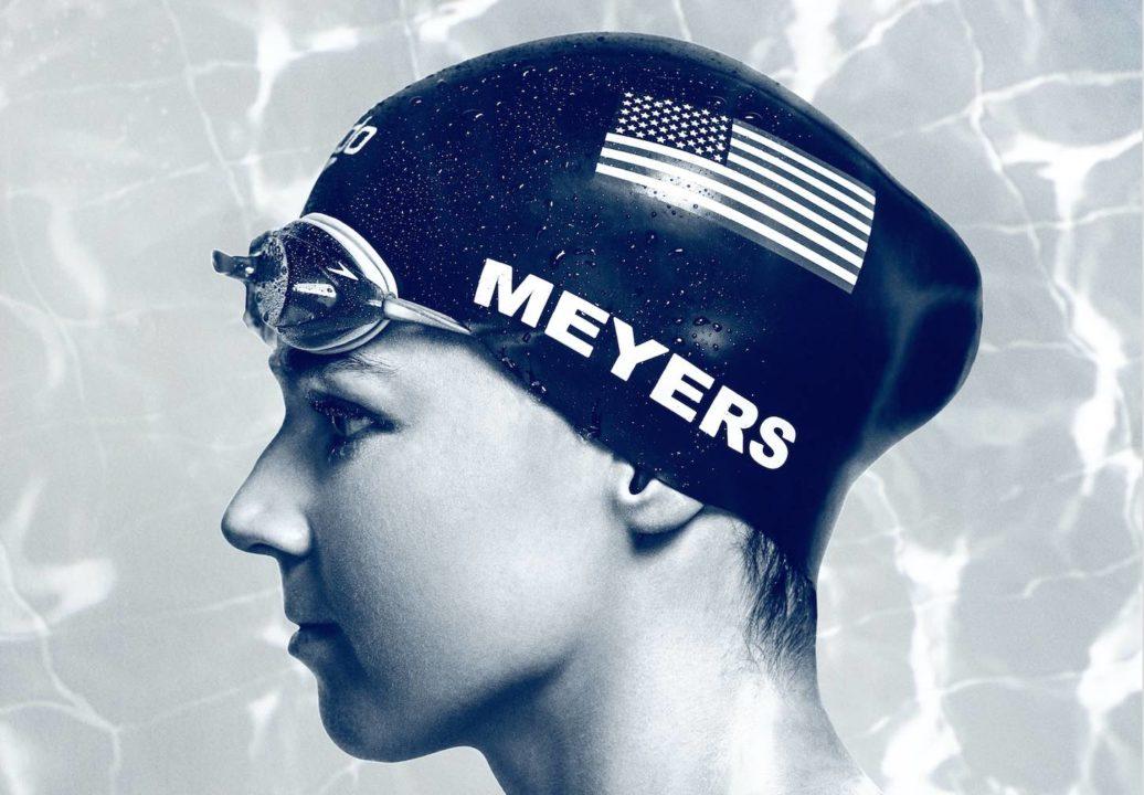 Paralympic Champion Becca Meyers, #SwimOn