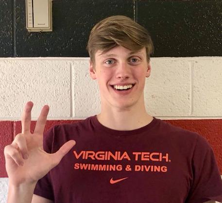 Backstroke Specialist Ben Eckerson Verbally Commits to Virginia Tech for 2021